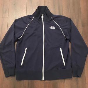 The North Face Zip Up Track Jacket Embroidered